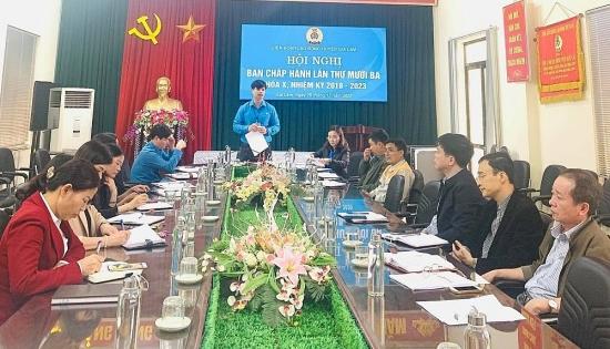 Liên đoàn Lao động huyện Gia Lâm: Hoạt động công đoàn đã đi vào chiều sâu