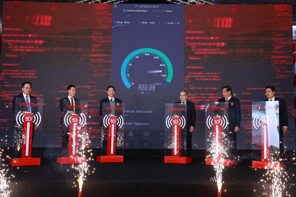 Yên Phong I, Bắc Ninh là khu công nghiệp đầu tiên có sóng 5G trên toàn quốc