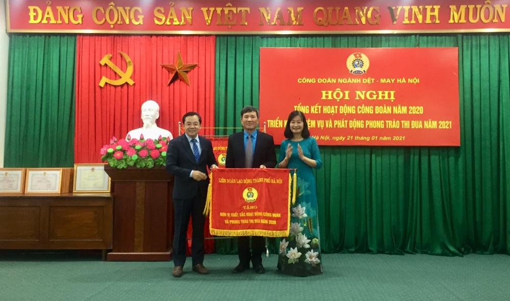 Công đoàn ngành Dệt- May Hà Nội: chú trọng chăm lo, bảo vệ người lao động