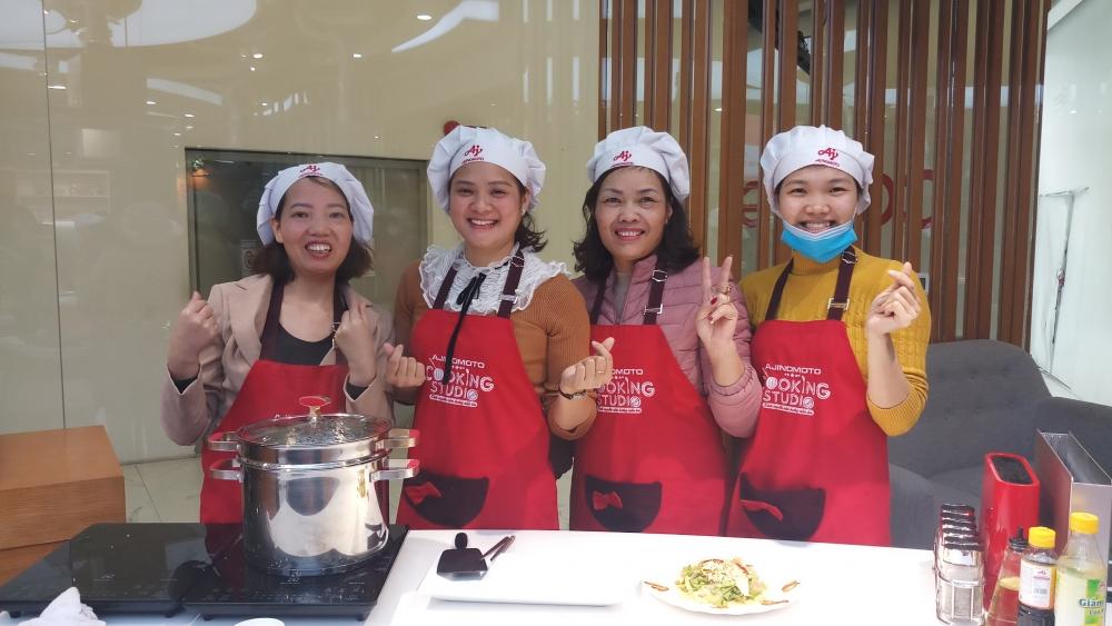 Khơi dậy niềm cảm hứng và đam mê nấu ăn cho chị em
