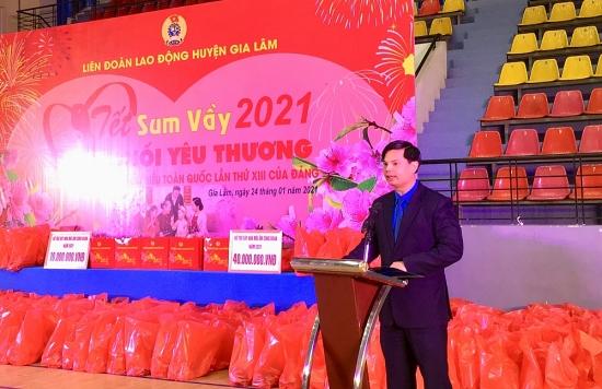 Công nhân viên chức lao động huyện Gia Lâm: 2 đợt thi đua năm 2021