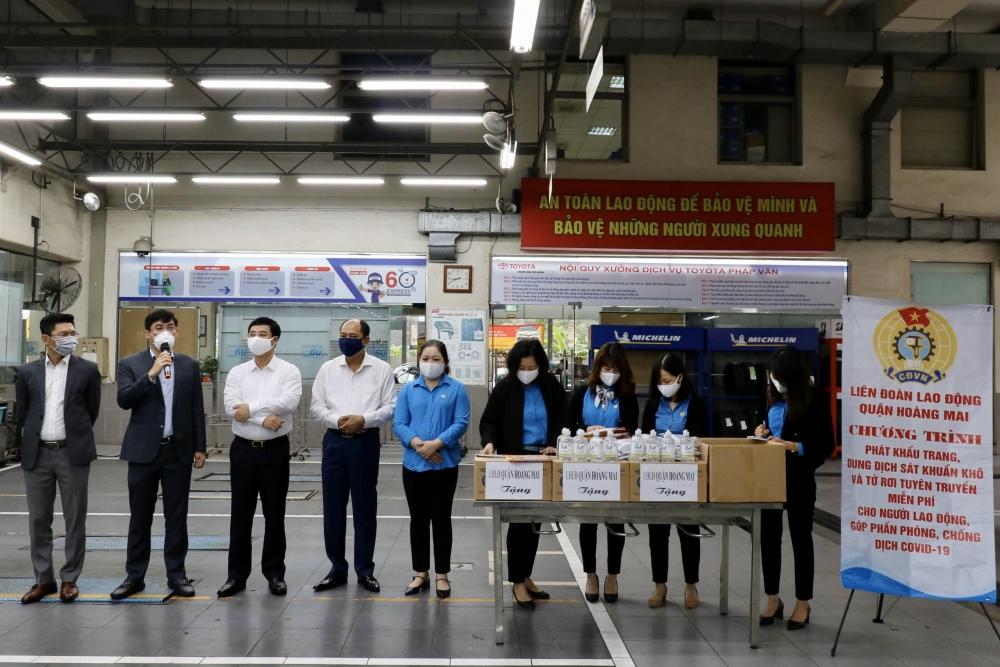 Quận Hoàng Mai: 500 triệu đồng chăm lo phúc lợi cho đoàn viên công đoàn