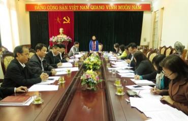 Hội nghị Ban thường vụ LĐLĐ thảo luận nhiều nội dung quan trọng