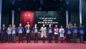 12 tập thể, 25 cá nhân có thành tích xuất sắc được khen thưởng