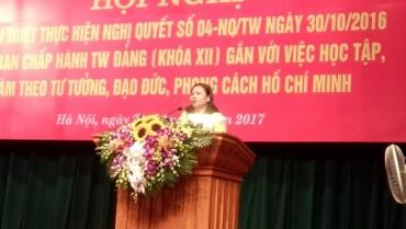 Hướng dẫn học tập, làm theo tư tưởng, đạo đức, phong cách Hồ Chí Minh chuyên đề năm 2018