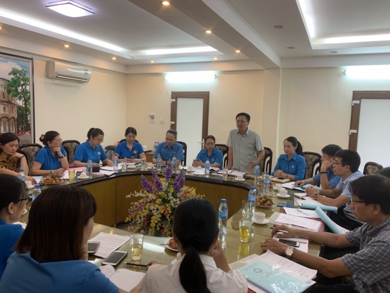 Tăng cường kiểm tra, giám sát việc chấp hành Điều lệ Công đoàn Việt Nam