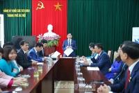 Đồng chí Phạm Bá Vĩnh tái đắc cử Bí thư Đảng ủy Cơ quan LĐLĐ Thành phố khóa XXV
