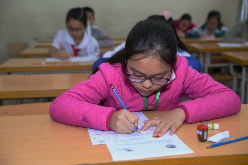 Hơn 1.200 học sinh tham dự Olympic Tiếng Anh Tiểu học chuẩn khảo thí quốc tế