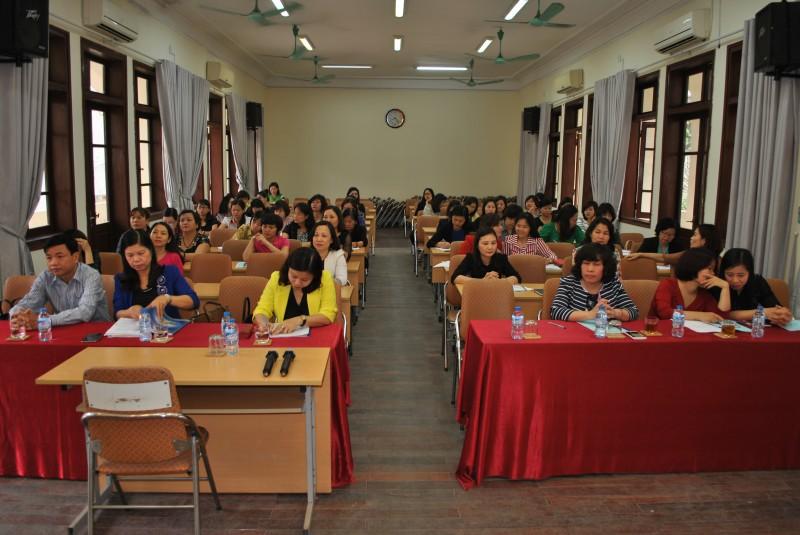 Tập huấn nghiệp vụ công tác nữ công năm 2017
