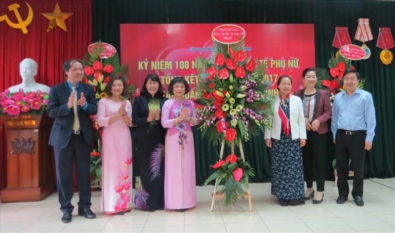 Công đoàn Dệt May Việt Nam kỷ niệm 108 năm Ngày Quốc tế Phụ nữ