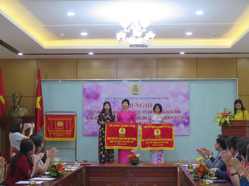 """5 năm, trên 1 triệu nữ CNVCLĐ Thủ đô """"Giỏi việc nước, đảm việc nhà"""""""