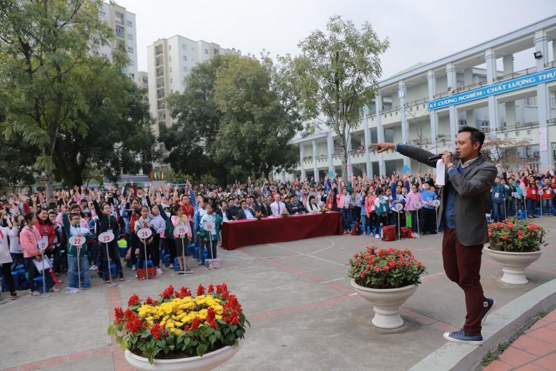 hon 1200 thi sinh tham gia olympic tieng anh tieu hoc thanh pho ha noi lan thu 15