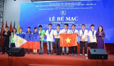 55 thí sinh xuất sắc giành Huy chương
