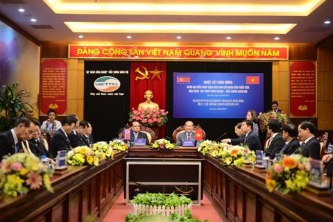 Phái đoàn cấp cao của Triều Tiên thăm tổ hợp nghiên cứu, sản xuất thiết bị dân sự của Viettel