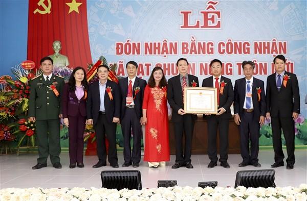 Xã Lệ Chi, huyện Gia Lâm đạt chuẩn Nông thôn mới