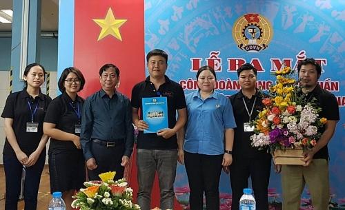 Thêm một CĐCS mới thuộc LĐLĐ quận Hoàng Mai