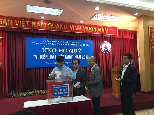 """Handico tích cực ủng hộ Quỹ """"Vì biển, đảo Việt Nam"""""""