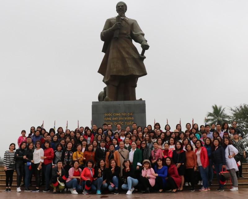 LĐLĐ quận Hoàng Mai: Sinh hoạt câu lạc bộ nữ công kỳ I năm 2019