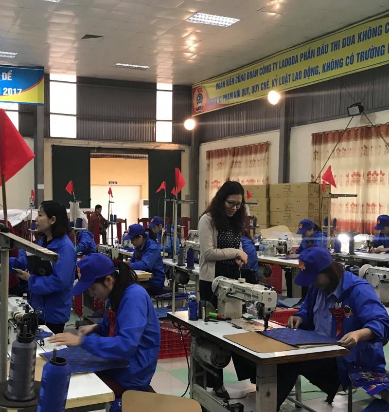 Cơ hội để công nhân rèn luyện tay nghề