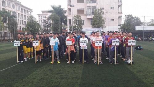 Giải bóng đá CNLĐ Công ty TNHH Lixil Việt Nam lần thứ 7
