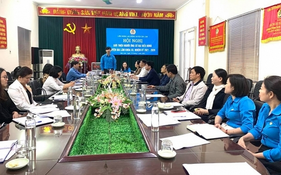 Giới thiệu nhân sự ứng cử đại biểu Hội đồng nhân dân huyện khóa XX