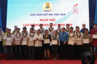 Ngày hội Lao động sáng tạo Công đoàn Dệt May Việt Nam