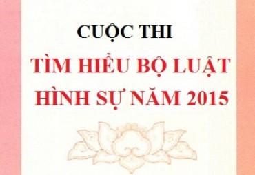 """Tổ chức cuộc thi viết """"Tìm hiểu Bộ luật hình sự năm 2015"""" trong CNVCLĐ Thủ đô"""