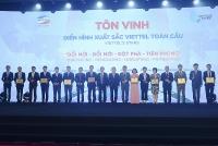 Viettel vinh danh những người xuất sắc nhất trong cuộc chuyển dịch số
