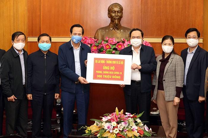 Phấn đấu trong tháng 4 gói hỗ trợ an sinh xã hội đến tay người dân