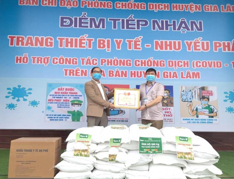 Nhiều tổ chức, cá nhân  ủng hộ cây ATM gạo