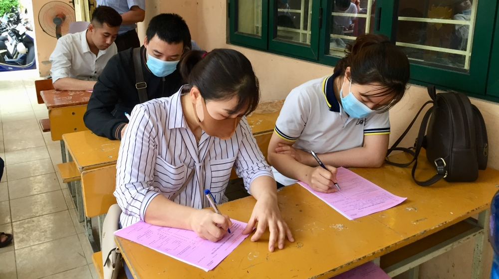 Cán bộ, công nhân viên chức lao động quận Hoàng Mai tích cực hiến máu tình nguyện
