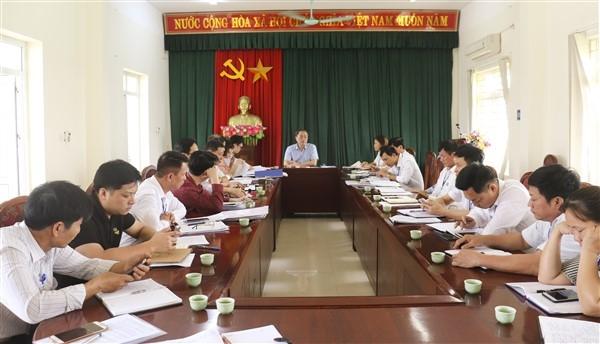 Huyện ủy Gia Lâm kiểm tra công tác bầu cử tại xã Văn Đức