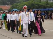 Đoàn đại biểu cán bộ Công đoàn Thủ đô vào lăng viếng Bác