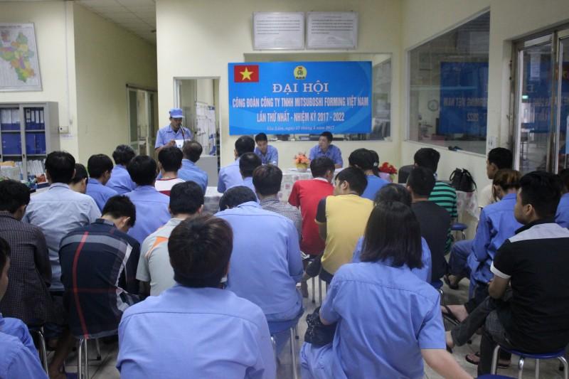 Công đoàn Công ty TNHH Mitsuboshi Forming Việt Nam: Phát huy vai trò cầu nối