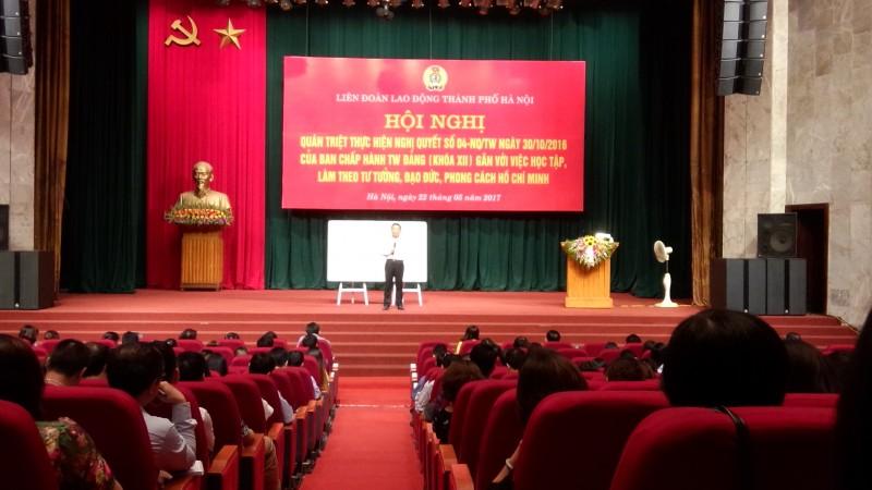 Học tập, quán triệt nghị quyết Hội nghị Trung ương 4 khóa XII