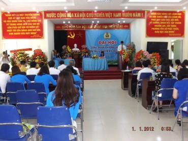 Quận Hoàng Mai: Đại hội công đoàn điểm khối hành chính sự nghiệp