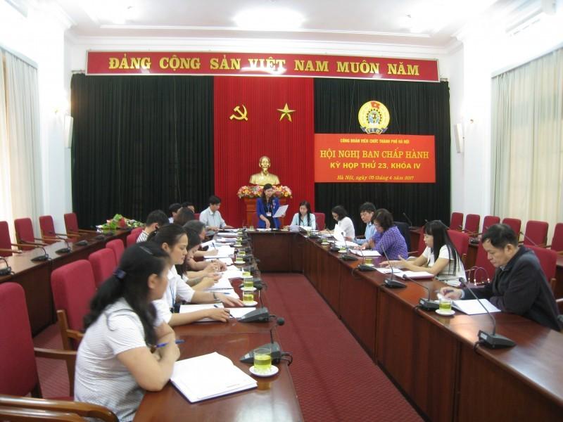 Các cấp công đoàn Thủ đô thực hiện nghiêm Điều lệ Công đoàn Việt Nam