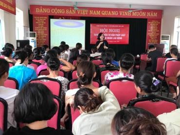 Nâng cao nhận thức pháp luật cho CNLĐ Công ty cổ phần Môi trường đô thị Gia Lâm
