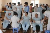 Ngày hội hiến máu tình nguyện trong CNVCLĐ huyện Gia Lâm năm 2019