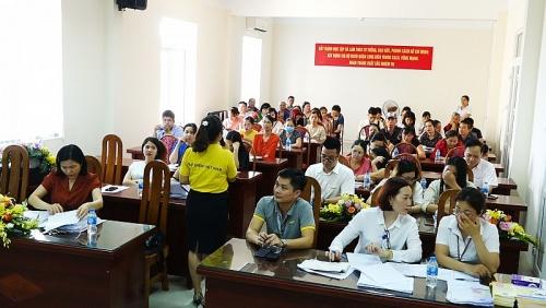 Tuyên truyền chính sách Bảo hiểm xã hội tự nguyện tại quận Long Biên