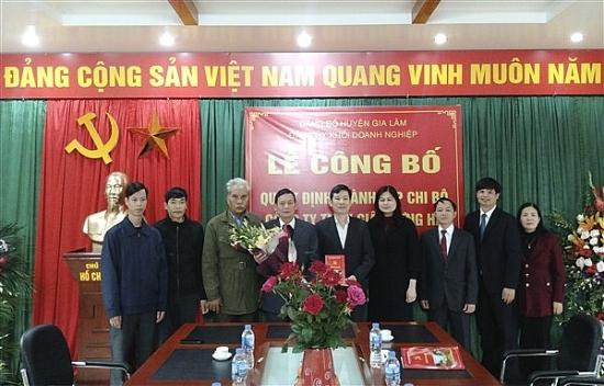 Liên đoàn Lao động huyện Gia Lâm: Quan tâm tham gia xây dựng Đảng