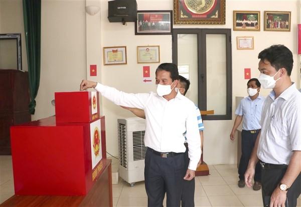 Gia Lâm đã bảo đảm mọi điều kiện sẵn sàng cho ngày bầu cử