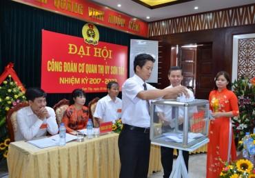 7 đồng chí trúng cử BCH nhiệm kỳ 2017- 2022