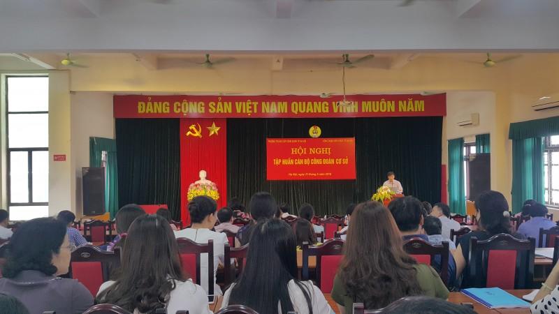 nang cao nghiep vu cong tac cho can bo cong doan co so