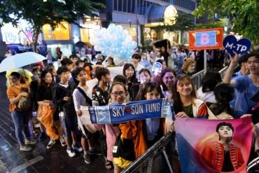 Giới trẻ TP Hồ Chí Minh mãn nhãn với Đại nhạc hội Viettel Kết nối triệu tâm hồn- Yêu bóng đá