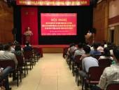 """Hội nghị học tập chuyên đề năm 2018 về """"Học tập và làm theo tư tưởng, đạo đức, phong cách Hồ Chí Minh"""""""