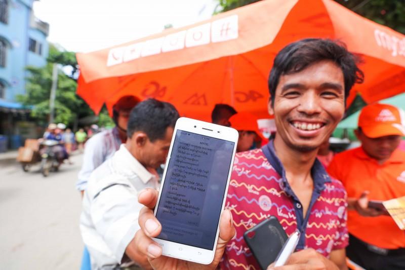 Viettel đạt 1 triệu thuê bao  sau 10 ngày khai trương tại Myanmar