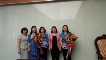 Bổ nhiệm Trưởng và Phó Ban Nữ công LĐLĐTP Hà Nội