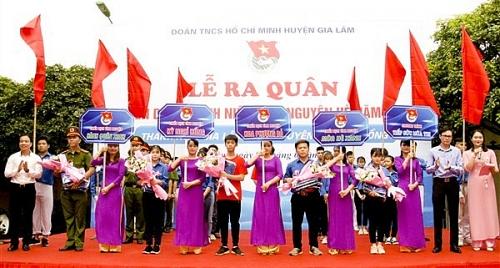 Thanh niên Gia Lâm tình nguyện vì cộng đồng