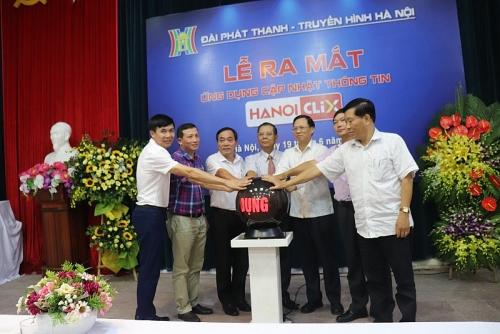 """Ra mắt ứng dụng HanoiClix """"Để sống cùng Hà Nội"""""""